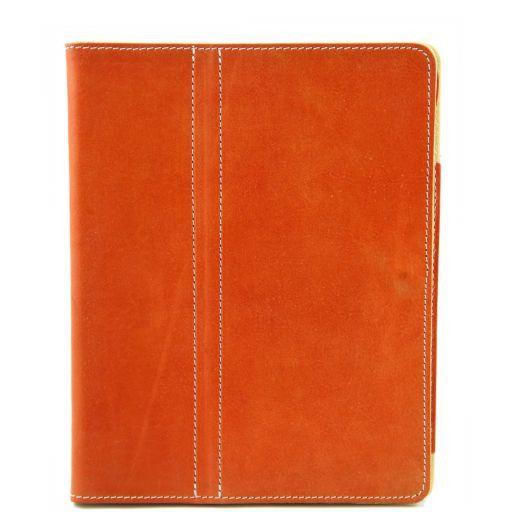 Esclusivo porta iPad in pelle Miele TL141112