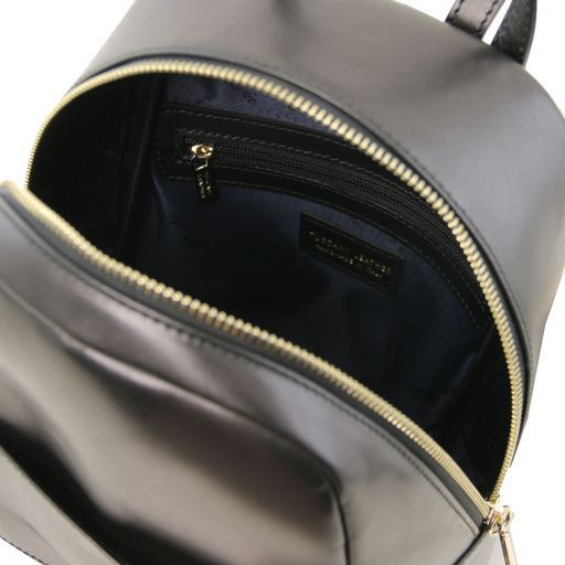 TL Bag Small leather backpack for woman Black TL141614