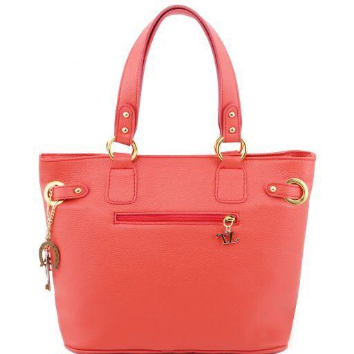 TL KeyLuck Citybag con dettagli color oro Corallo TL141117