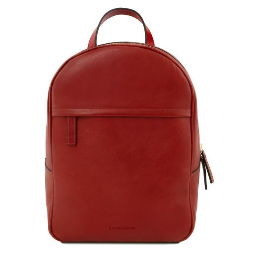 TL Bag Leather backpack for women Красный TL141604