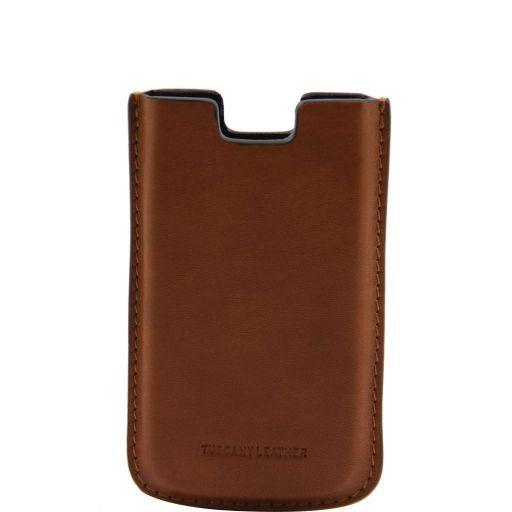 Esclusivo porta iPhone4/4s in pelle Miele TL141124