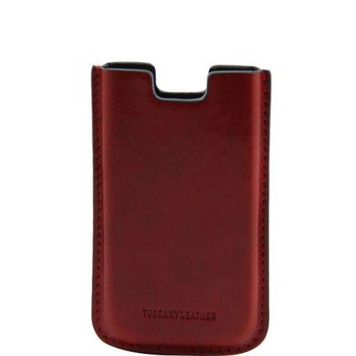 Esclusivo porta iPhone4/4s in pelle Rosso TL141124