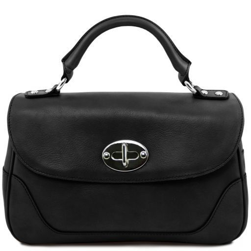 TL NeoClassic Lady leather duffel bag Black TL141227