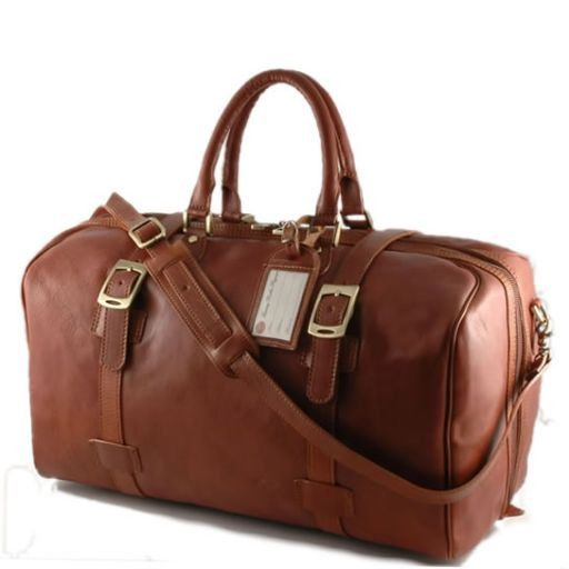 Monaco Travel leather bag - Large size Коричневый TL140437