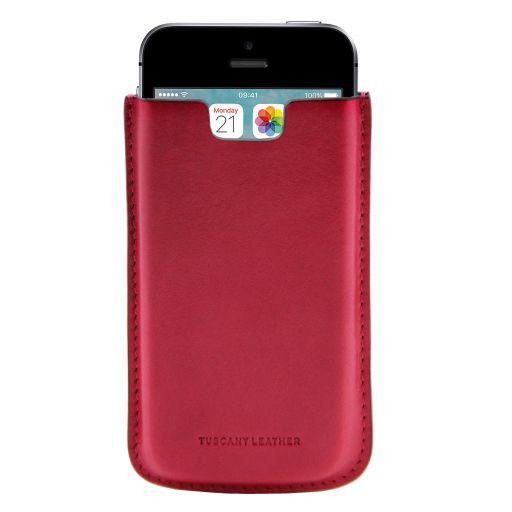 iPhone SE/5s/5 Etui aus Leder Rosa TL141128