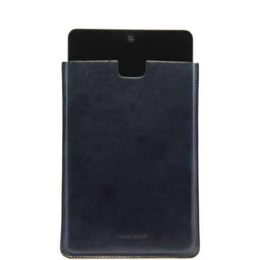 Etui pour iPad Mini en cuir Bleu TL141141