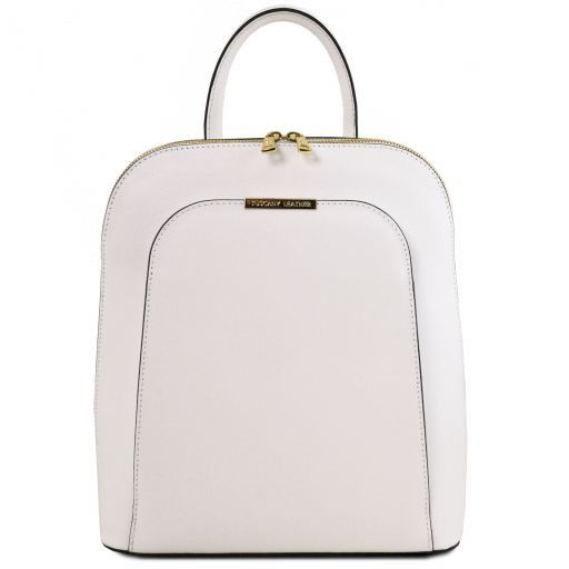 TL Bag Saffiano leather backpack for women Белый TL141631