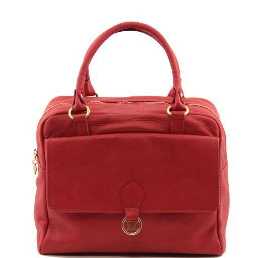 TL MISS TUSCANY Soft leather handbag Красный TL141152