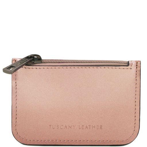 Leather key holder Розовый TL141677