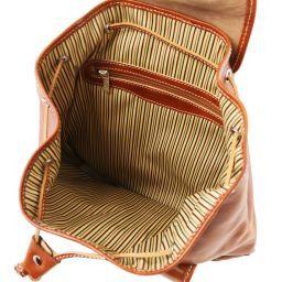 Singapore Кожаный рюкзак Коричневый TL9039