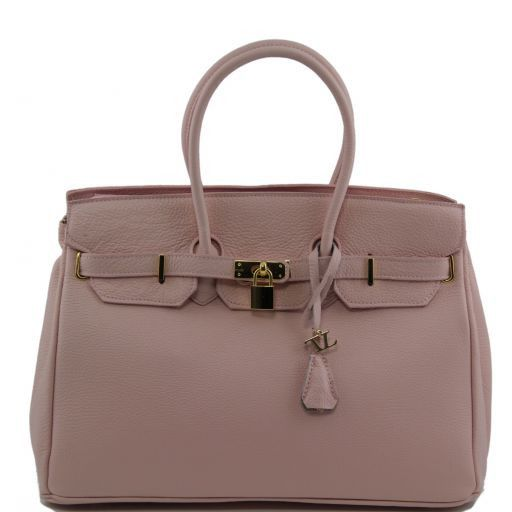 TL Bag Borsa a mano media con accessori oro Rosa TL141174