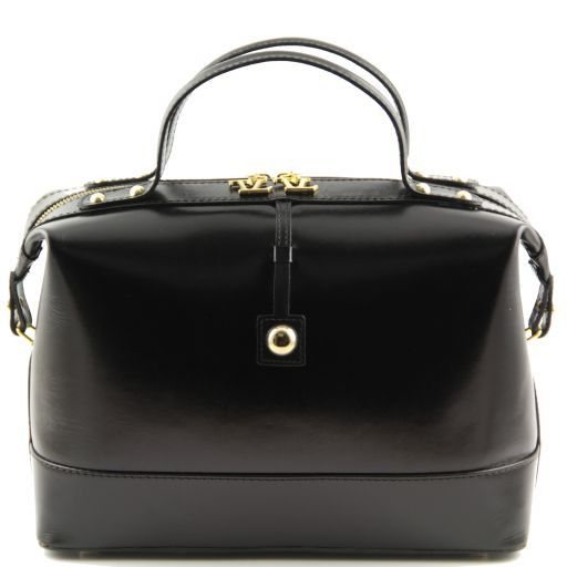 TL Bag Bauletto medio in pelle Nero TL141190