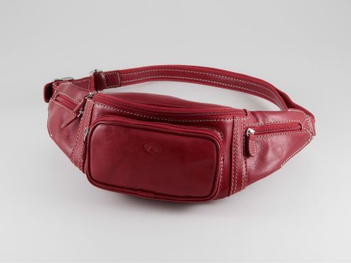 Saint Rhemy Marsupio in pelle Rosso TL90153