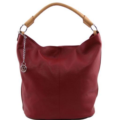TL Bag Leather secchiello bag Red TL141201