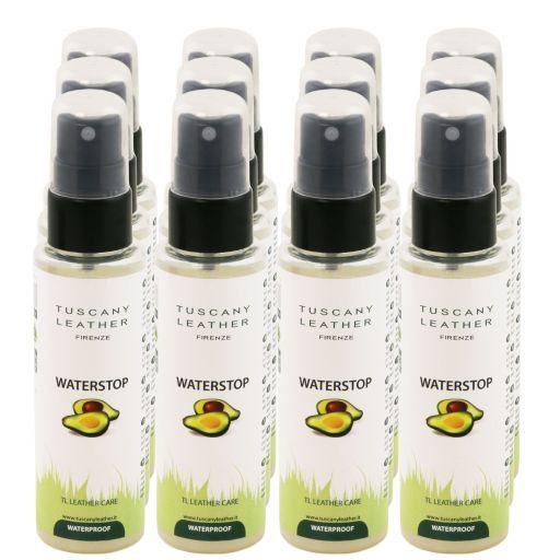 WATERSTOP Spray impermeabilizzante per pelle x 12 Neutro TL141309