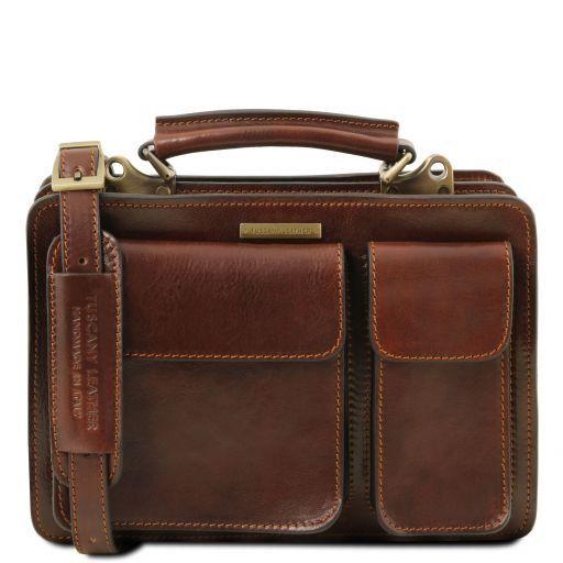 Tania Damenhandtasche aus Leder Braun TL141270