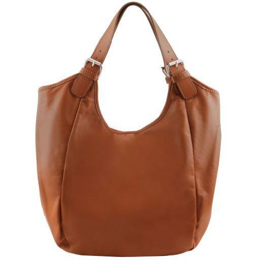 a909b44dcc18 Gina Leather Hobo bag Cognac TL141357