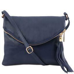 TL Young Bag Bolso con bandolera y borla Azul oscuro TL141153