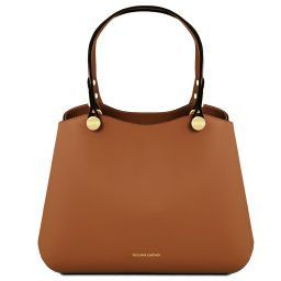 Italian Leather Handbags Cognac Buy Online at Tuscany Leather 0a4ed6c21be92