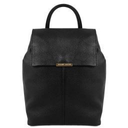 TL Bag Soft leather backpack for women Black TL141706