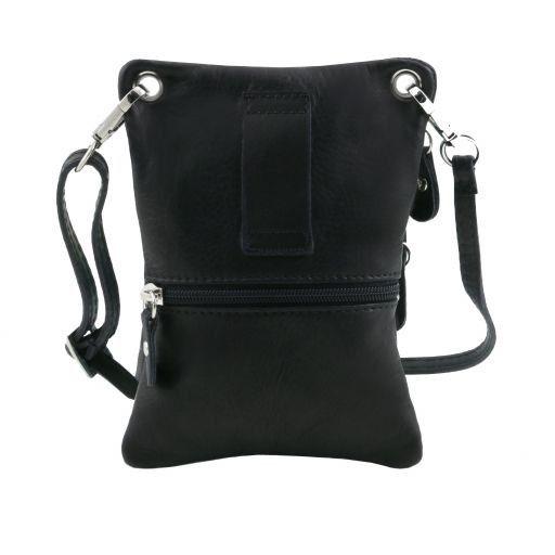 TL Bag Soft leather mini cross bag Black TL141368