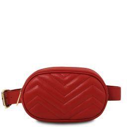 TL Bag Marsupio in pelle morbida Rosso TL141699
