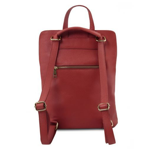 TL Bag Soft leather backpack for women Красный TL141682