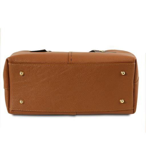 TL Bag Leather shopping bag Коньяк TL141730