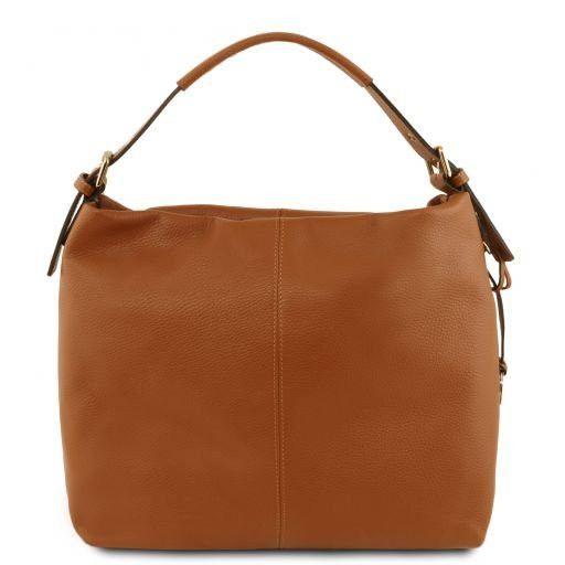 TL Bag Sac hobo en cuir souple Cognac TL141719