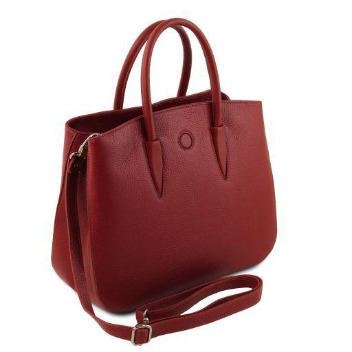 Camelia Borsa a mano in pelle Rosso TL141728