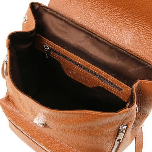 Margherita Leather backpack Cognac TL141729