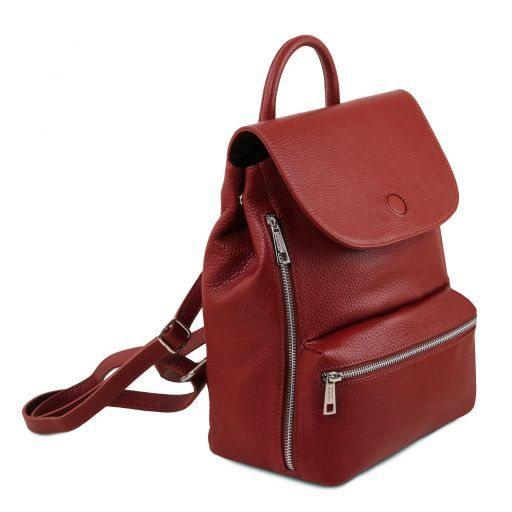 Margherita Zaino in pelle Rosso TL141729