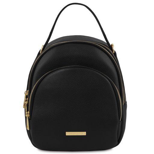 TL Bag Leather backpack for women Black TL141743
