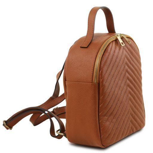 TL Bag Zaino donna in pelle Cognac TL141737