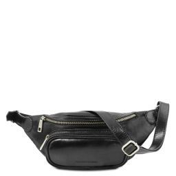 Leather fanny pack Black TL141797