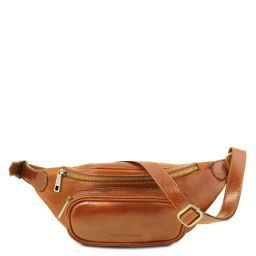 Leather Fanny Pack Мед TL141797