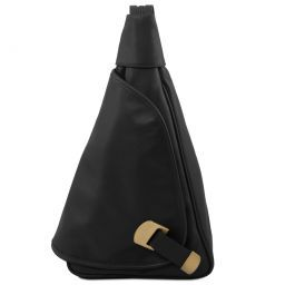 Hanoi Leather backpack Black TL140966