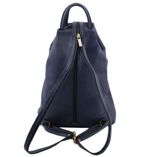 Shanghai Leather backpack Dark Blue TL140963