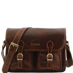 San Marino Herrentasche aus Leder Braun TL10180