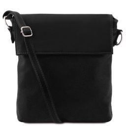 Morgan Leather shoulder bag Black TL141511