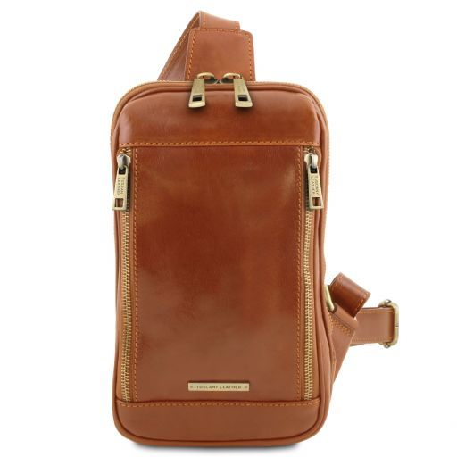 Martin Leather crossover bag Мед TL141536