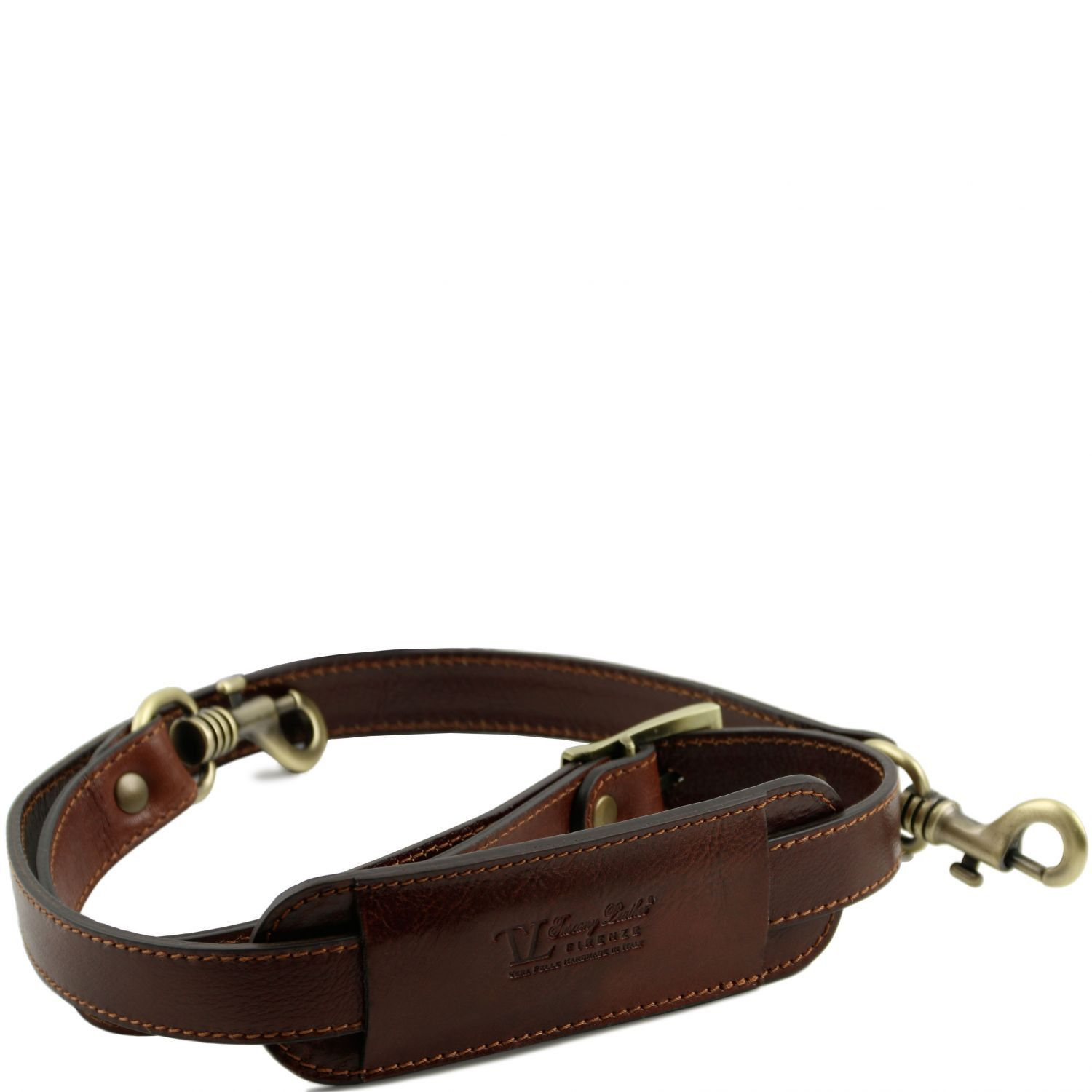 Bilde av Adjustable leather shoulder strap Brown