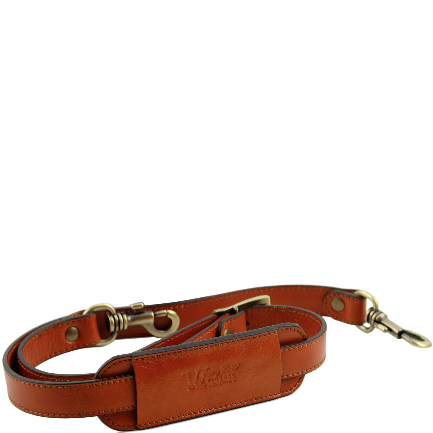 Bilde av Adjustable leather shoulder strap Honey