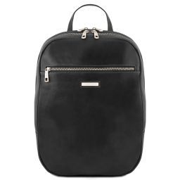 Osaka Zaino porta notebook in pelle Nero TL141711