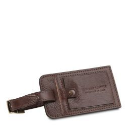 Luggage tag Dark Brown TLTAG