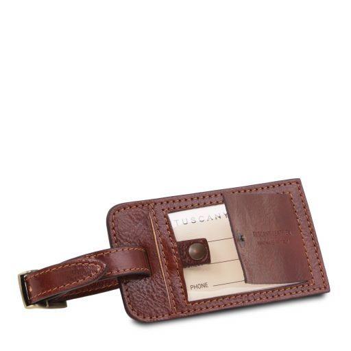 Luggage tag Brown TLTAG