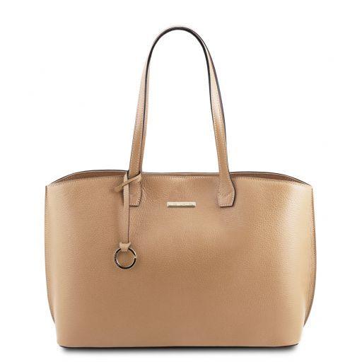 TL Bag Bolso shopping en piel Champagne TL141828