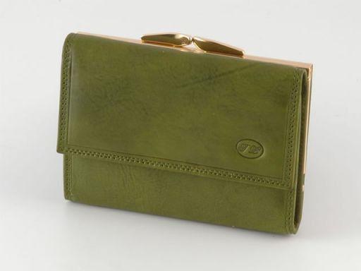 Portafogli in pelle donna Verde TL140211