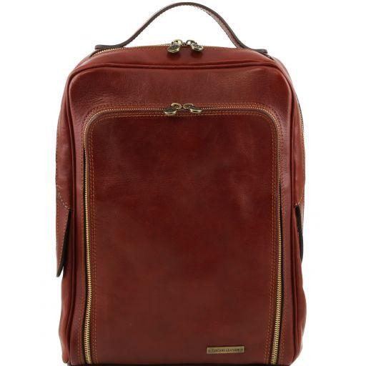 Bangkok Zaino porta notebook in pelle Marrone TL141289