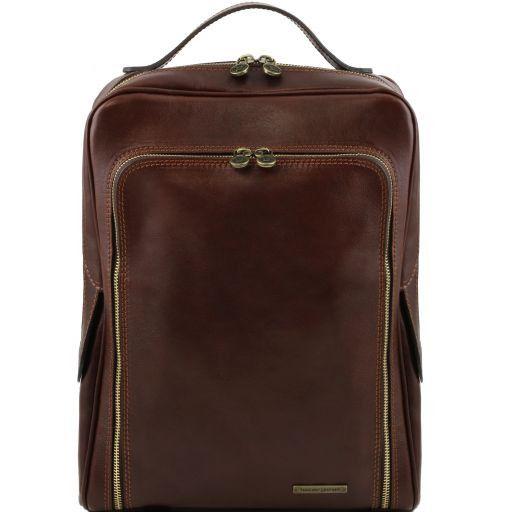 Bangkok Zaino porta notebook in pelle Testa di Moro TL141289